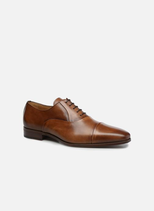 Lace-up shoes Marvin&Co Luxe Pastagna - Cousu Blake Brown detailed view/ Pair view